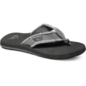 Quiksilver Monkey Abyss Sandals Men Grey/Black/Brown